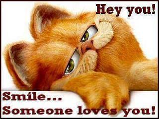 Smile somebody ...